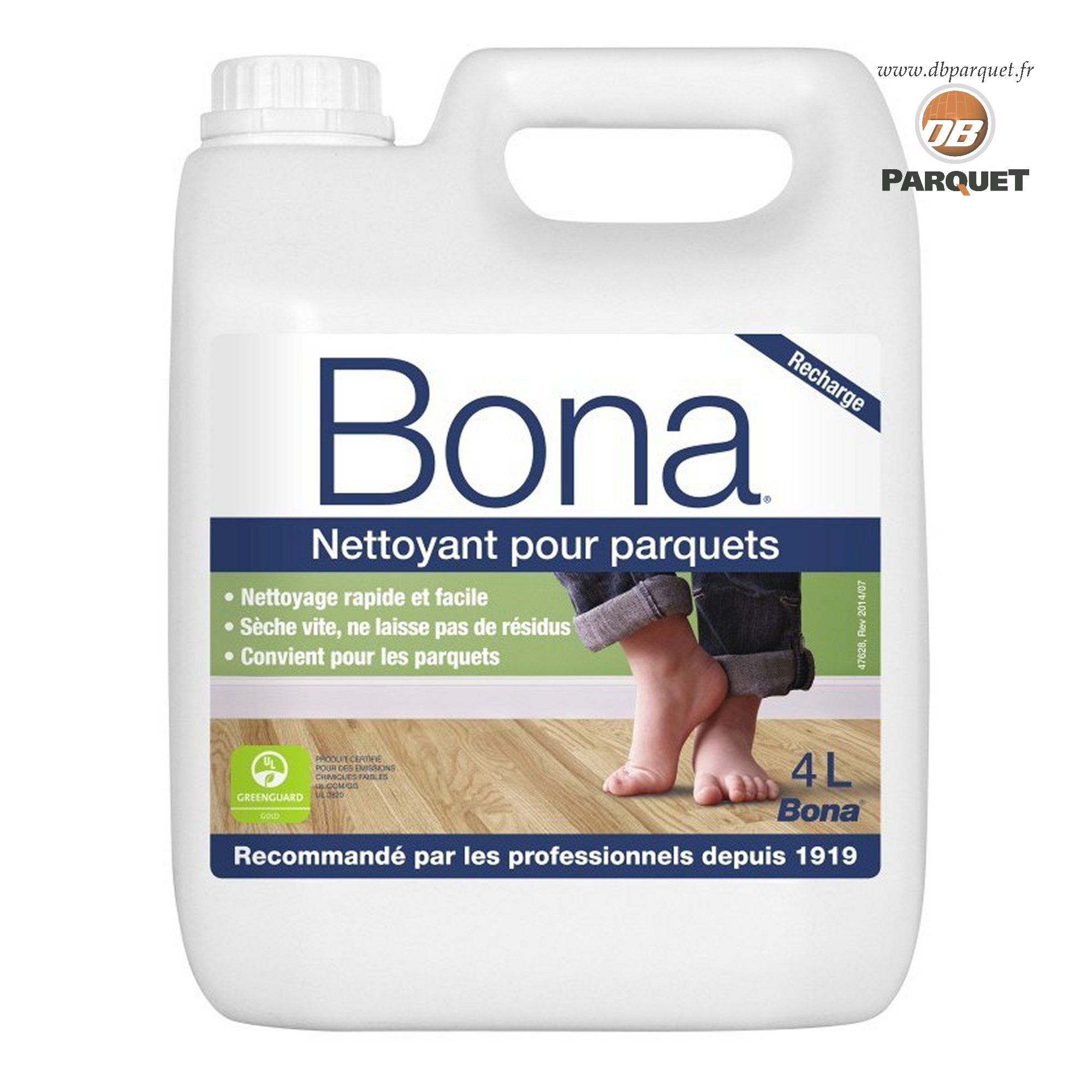Nettoyant pour parquet Bona 4 litres