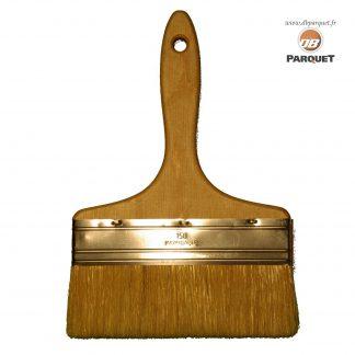 Spalter inox. Largeur de 15cm, manche en bois, soies naturelles.