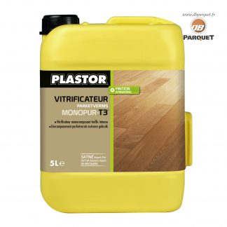 Bidon de vitrificateur Plastor Monopur T3en 5 Litres